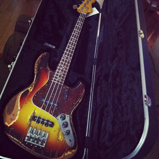 Boom!  #nash #bass #guitar #gffg