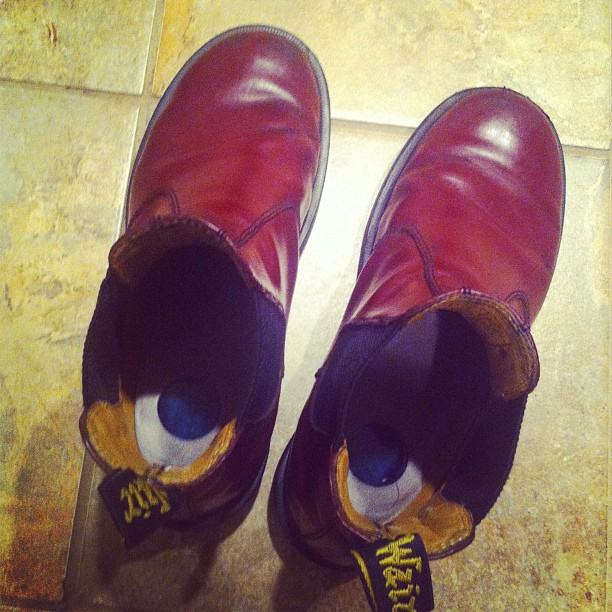 Home at last! #doctormartens #gffg