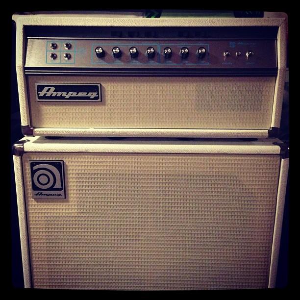 I want it. #ampeg #gffg #wolfandsnakestour